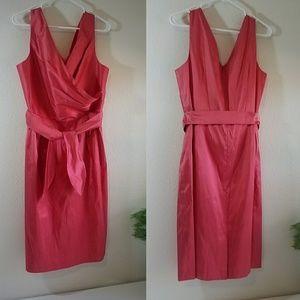 ☆Gorgeous Silk Pink Talbots Dress Size 16